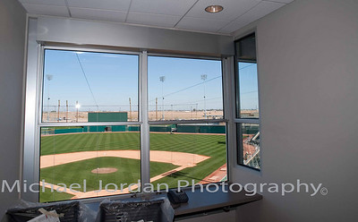 Press Room at the Goodyear Ballpark - Cleveland Indians Spring Training Stadium