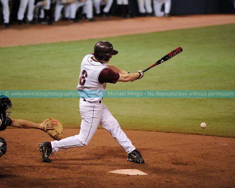 """<font size=""""3"""" face=""""Verdana"""" font color=""""white"""">2008 College Baseball - #6 Eric Olson</font> <font size=""""2"""" face=""""Verdana"""" font color=""""#5CB3FF""""> Augsburg College Auggies playing Carleton College Knights at the Metrodome in Minneapolis on April 10, 2008. </font> <br>"""
