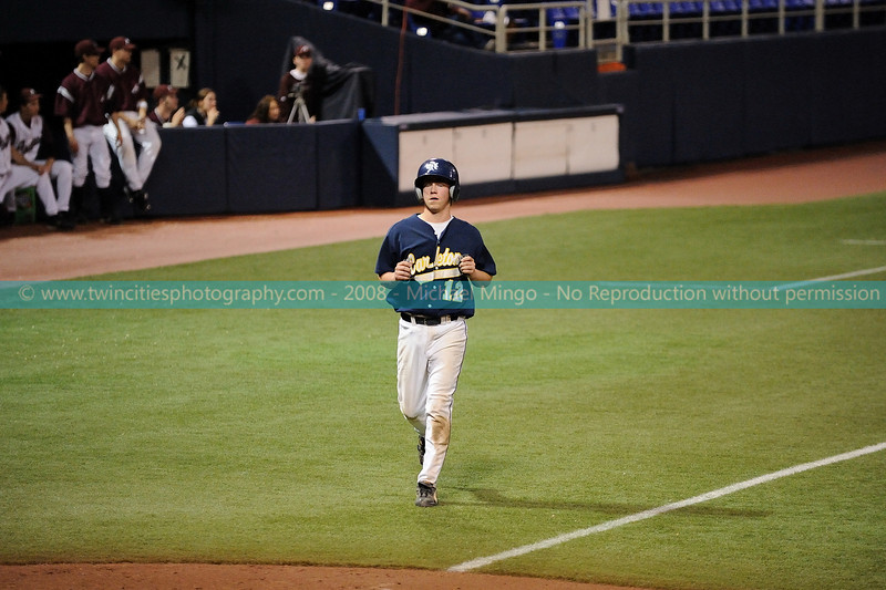 """<font size=""""3"""" face=""""Verdana"""" font color=""""white"""">2008 College Baseball - #12 Zach Miller</font> <font size=""""2"""" face=""""Verdana"""" font color=""""#5CB3FF""""> Augsburg College Auggies playing Carleton College Knights at the Metrodome in Minneapolis on April 10, 2008. </font> <br>"""