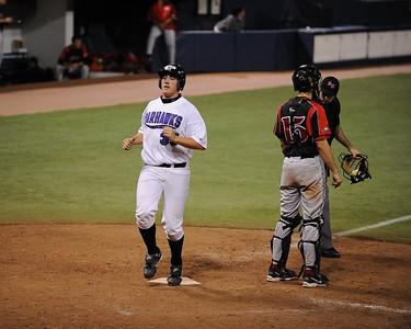 College Baseball - #35  Cory Trepanier  - UW Whitewater vs. St. Cloud State Huskies at the HHH Metrodome.