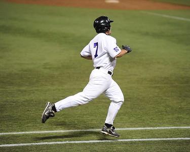 College Baseball - #7 Max Cordio  - UW Whitewater vs. St. Cloud State Huskies at the HHH Metrodome.