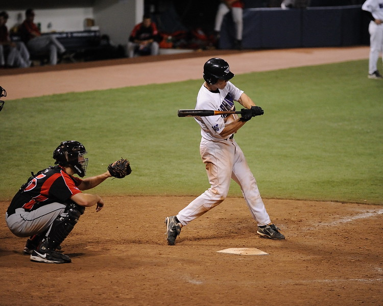 "<font size=""3"" face=""Verdana"" font color=""white"">College Baseball</font> <font size=""3"" face=""Verdana"" font color=""#5CB3FF""> - UW Whitewater vs. St. Cloud State Huskies at the HHH Metrodome.</font> <br>"
