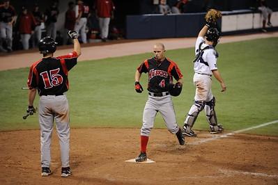 College Baseball - #4 Brandon Peyer   - UW Whitewater vs. St. Cloud State Huskies at the HHH Metrodome.