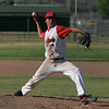 Linsday High School pitcher throws a pitch against Corcoran on May 2, 2013.