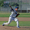 Corcoran Panther pitcher Jacob Gamez against Lindsay Cardinals on May 2, 2013.