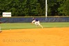 Cory was playing 2nd base going after a grounder to short...