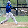 Leominster's Rusty Frederick takes a swing during the game against Fitchburg on Wednesday afternoon. SENTINEL & ENTERPRISE / Ashley Green