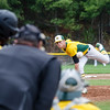 Fitchburg States's Tommy Parsons delivers a pitch during the game against Framingham State on Thursday afternoon. SENTINEL & ENTERPRISE / Ashley Green