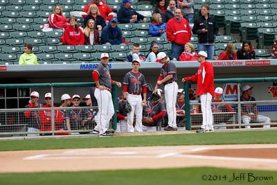 Franklin vs Plainfield Baseball 5-2-14