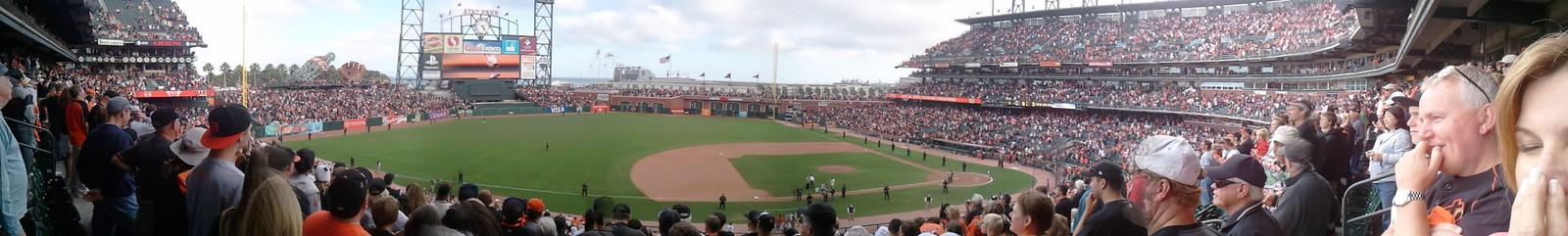 Giants v Padres 10/3/10