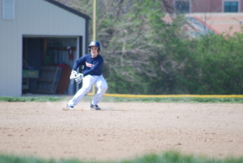 Jace running bases