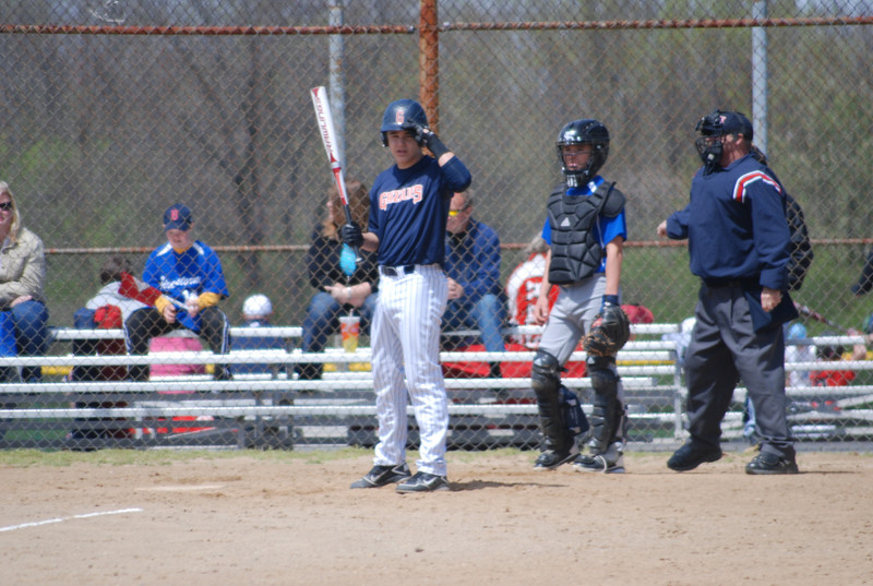 Dylan at plate