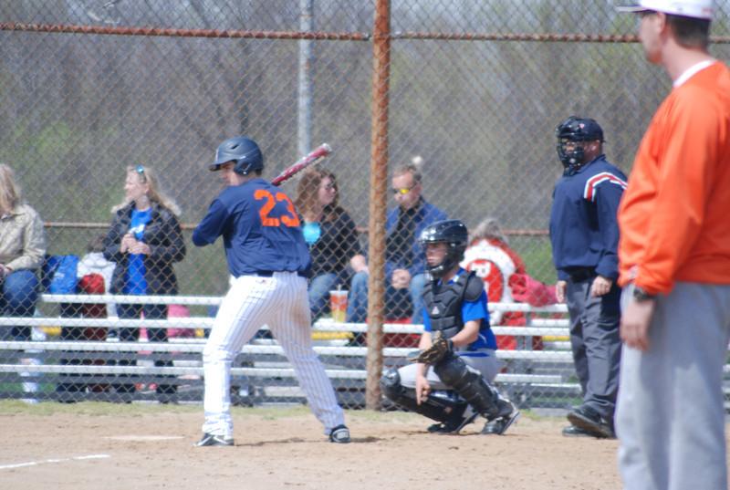 Josh at bat