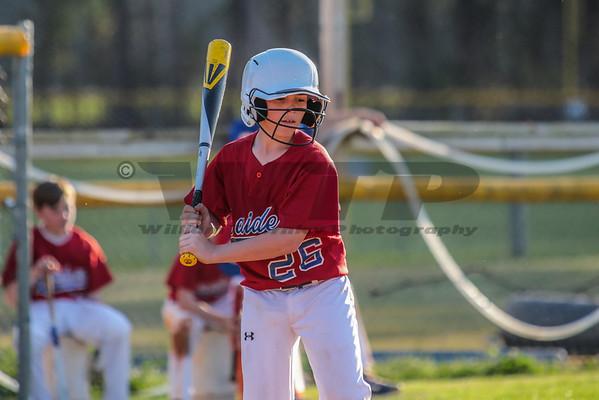 HHA JV Baseball vs THA 4-1-14