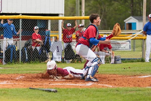 HHA vs DA Baseball 04-08-14