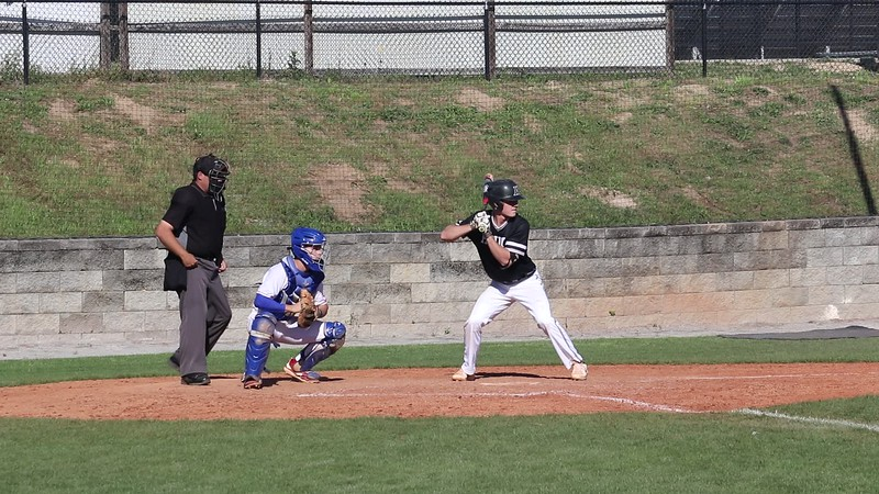 2019-0415 Chason hit but runner out at 2nd Hough vs Riverside MVI_0269