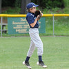 Jeff Crete of Leominster National during Sunday's Leominster Championship game at Desantis Field.