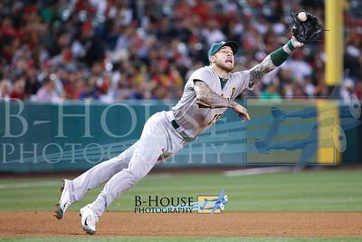 MLB: JUN 13 Athletics at Angels