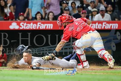 MLB 2017: Yankees vs Angels JUN 14