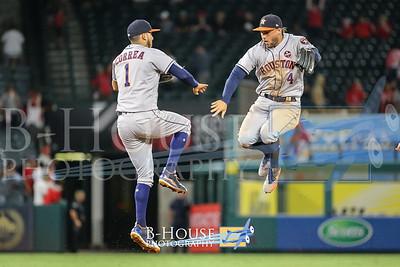 MLB 2017: Astros vs Angels SEP 12