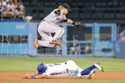 MLB 2017: Giants vs Dodgers JUL 28