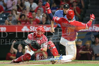 MLB 2017: Phillies vs Angels AUG 01