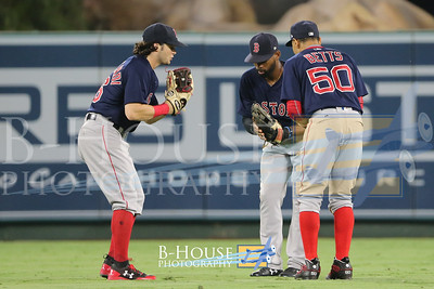 MLB 2017: Red Sox vs Angels JUL 21
