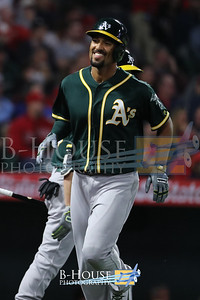 MLB 2018: A's vs Angels APR 06