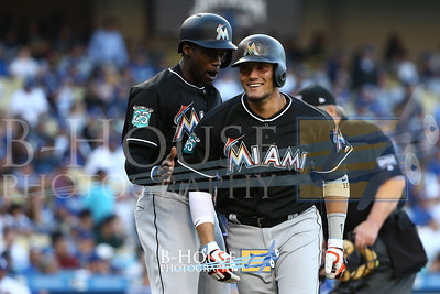MLB: APR 25 Marlins at Dodgers