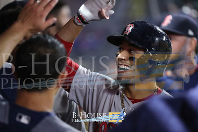 MLB 2018: Red Sox vs Angels APR 17