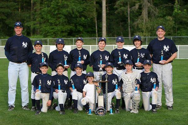 Majors Yankees Tri-City Champions!
