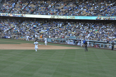 Mets at Dodgers Eighth Inning 30 June 2012