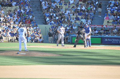 Mets at Dodgers Fifth Inning 30 June 2012