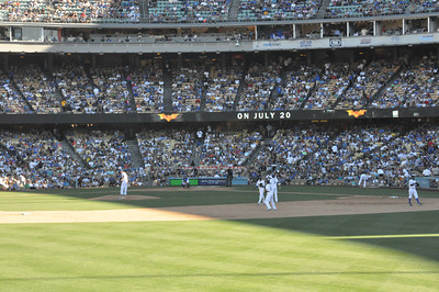 Mets at Dodgers Seventh Inning 30 June 2012