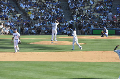 Mets at Dodgers Sixth Inning 30 June 2012