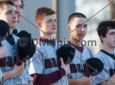 Mt Vernon @ W-L JV Baseball (01 Apr 2014)