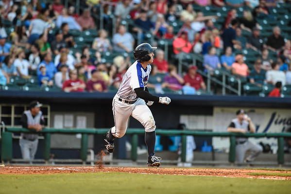 Naturals vs Travelers at Arvest Ballpark in Springdale, Arkansas, on Saturday, June 13, 2015.  The Naturals won 3-2.  Photos by Alan Jamison.
