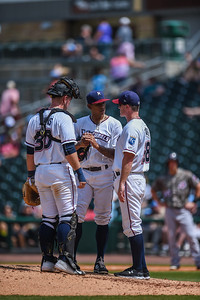 Naturals vs Travelers at Arvest Ballpark in Springdale, Arkansas, on Sunday, June 14, 2015.  The Naturals won 9-6.  Photos by Alan Jamison.