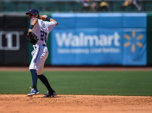 in a ballgame between the NWA Naturals and the Tulsa Drillers at Arvest Ballpark in Springdale, Arkansas, on Sunder, June 28, 2015.  The Naturals won 12-1.  Photos by Alan Jamison.