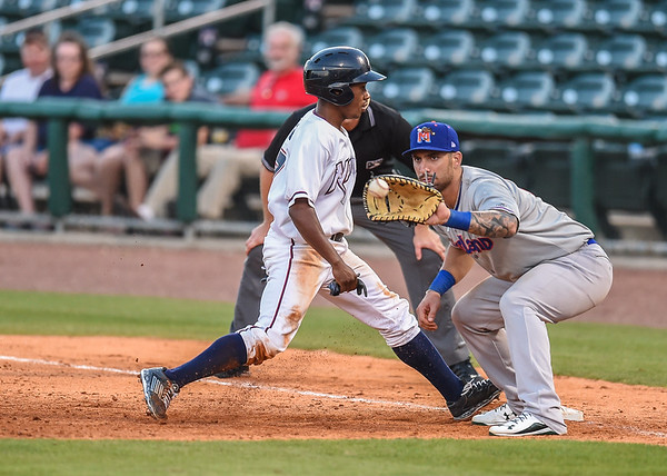 Baseball game between the NWA Naturals and the Midland RockHounds at Arvest Ballpark in Springdale, Arkansas, on Saturday, July 11, 2015.  The RockHounds won 2-0.  Photos by Alan Jamison.