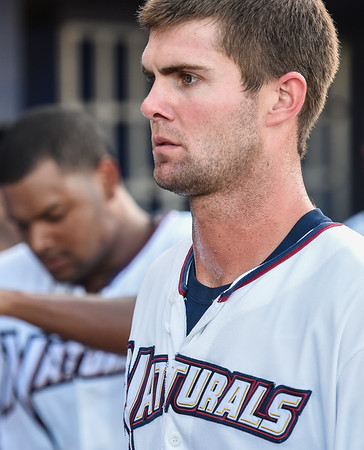 Baseball game between the NWA Naturals and the Midland RockHounds at Arvest Ballpark in Springdale, Arkansas, on Monday, July 13, 2015.  The Naturals won 5-2.  Photos by Alan Jamison.