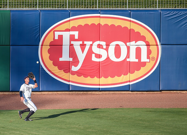 Baseball game between the NWA Naturals and the Tulsa Drillers at Arvest Ballpark in Springdale, Arkansas, on Sunday, July 19, 2015.  The Drillers won 8-1.  Photos by Alan Jamison.