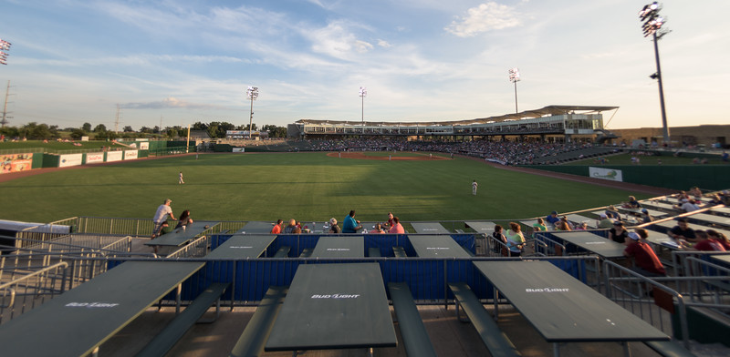 A baseball game between the NWA Naturals and the Springfield Cardinals at Arvest Ballpark in Springdale, Arkansas, on Saturday, August 1, 2015.  The Naturals won 6-5 in front of a crowd of 5,005.  Photos by Alan Jamison.