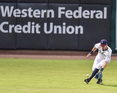 Texas League North Division Playoffs - Game 1  - NWA Naturals vs Arkansas Travelers - Wednesday, 9/7/2015 at Arvesst Ballpark, Springdale, Arkansas.   The Naturals won 4-3.  (Alan Jamison)