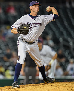 Texas League North Division Playoffs - Game 2 - NWA Naturals vs Arkansas Travelers - Thursday, 9/10/2015 at Arvest Ballpark, Springdale, Arkansas.   The Naturals won 5-3.  (Alan Jamison)