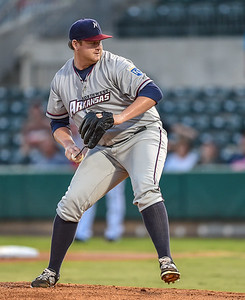 Texas League North Division Playoffs - Game 3- NWA Naturals vs Arkansas Travelers - Friday, 9/11/2015 at Dickey-Stephens Part in North Little Rock, Arkansas.   The Naturals won 6-3.  (Alan Jamison)