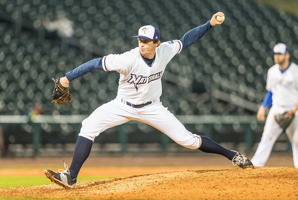 during a baseball game between NWA Naturals and Arkansas Travelers on May 19,  2016.   (Alan Jamison)