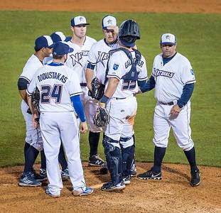 during a baseball game between NWA Naturals and Arkansas Travelers on May 19,  2016.   (Alan Jamison)