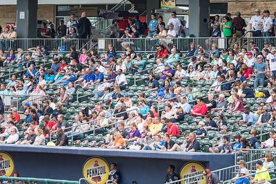 during a baseball game between the NWA Naturals and the San Antonio Missions on Jun 2,  2016.  (Alan Jamison)