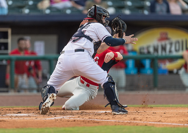 Baseball game between the NWA Naturals and the Springfield Cardinals on Friday, September 9, 2016.  (Alan Jamison, NWA Naturals)